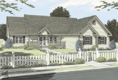 The Lexington Park 1890 Sq Ft 3 Bedroom 2 Bath Customizable Floor Plan